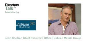 Jubilee Metals Leon Coetzer