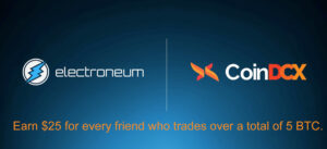 Electroneum joins CoinDXC