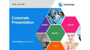 Zotefoams Investor Presentation