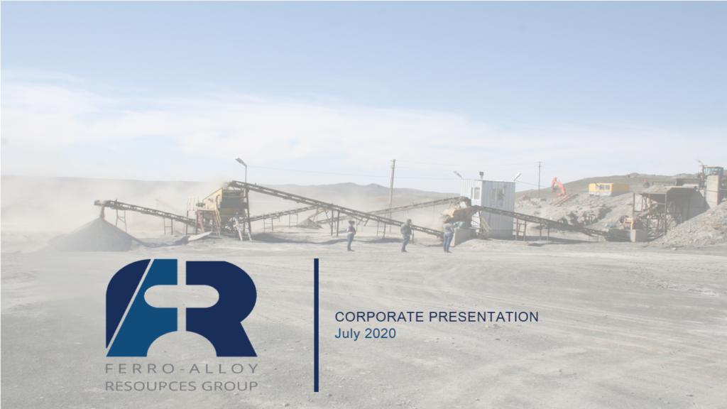 Ferro-Alloy Resources