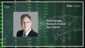 Robin Savage, Zeus Capital