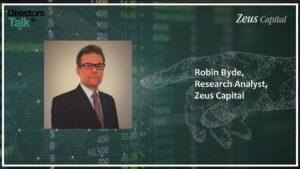 Robin Byde - Zeus Capital