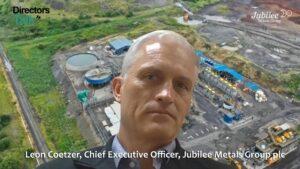 Jubilee Metals Group Interview
